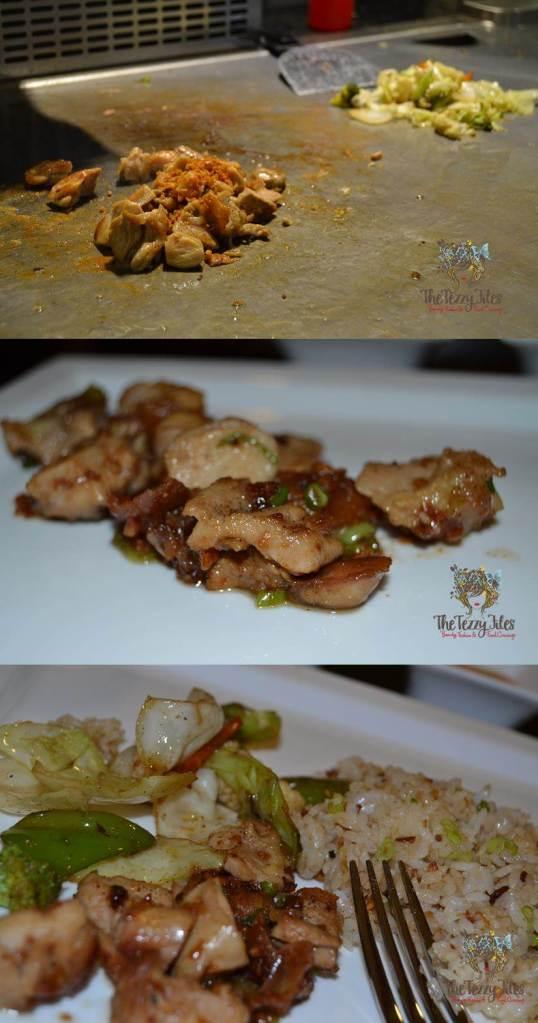 the hub 7 live teppanyaki japanese cooking station jlt dubai review