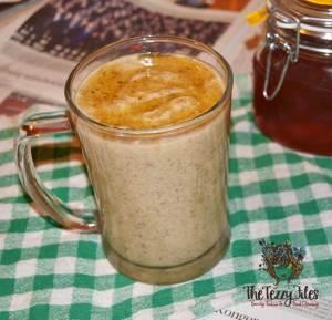 avocado date linseed shake recipe vegan paleo 1