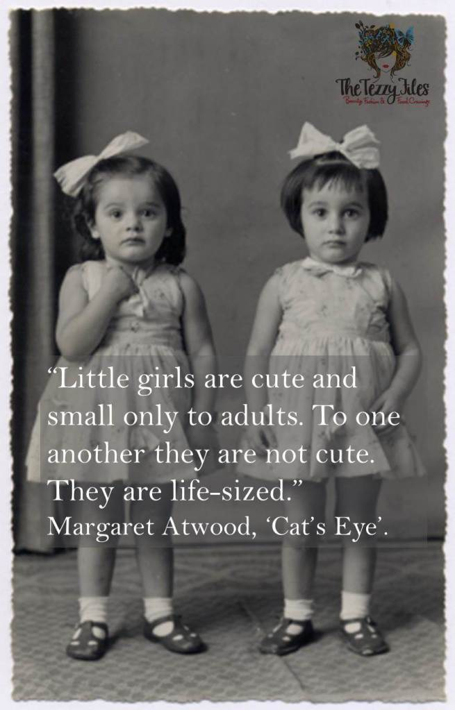 margaret atwood cat's eye quote little girls