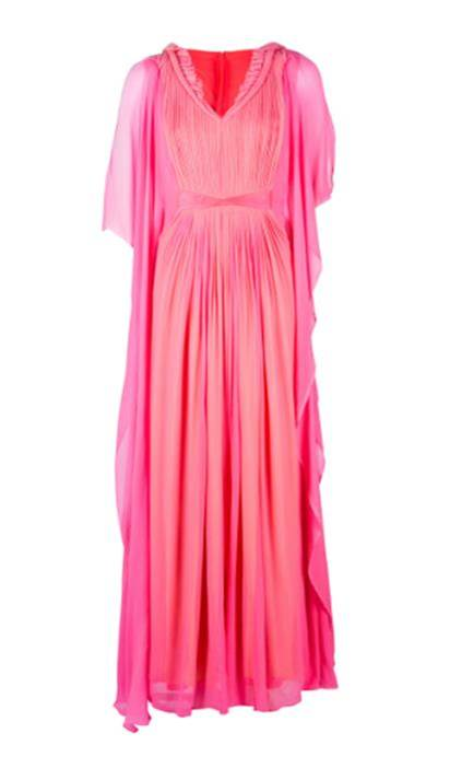fuschia pink dress eid