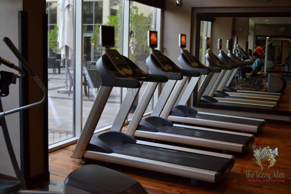 centro sharjah by rotana review gym