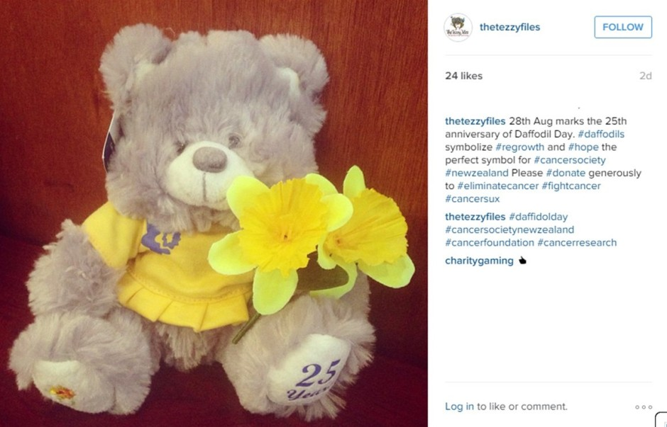 daffodil day new zealand cancer society 28th august 25th anniversary donate (2)