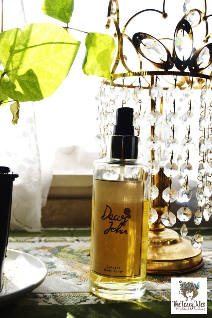 dear john perfum lush review unisex