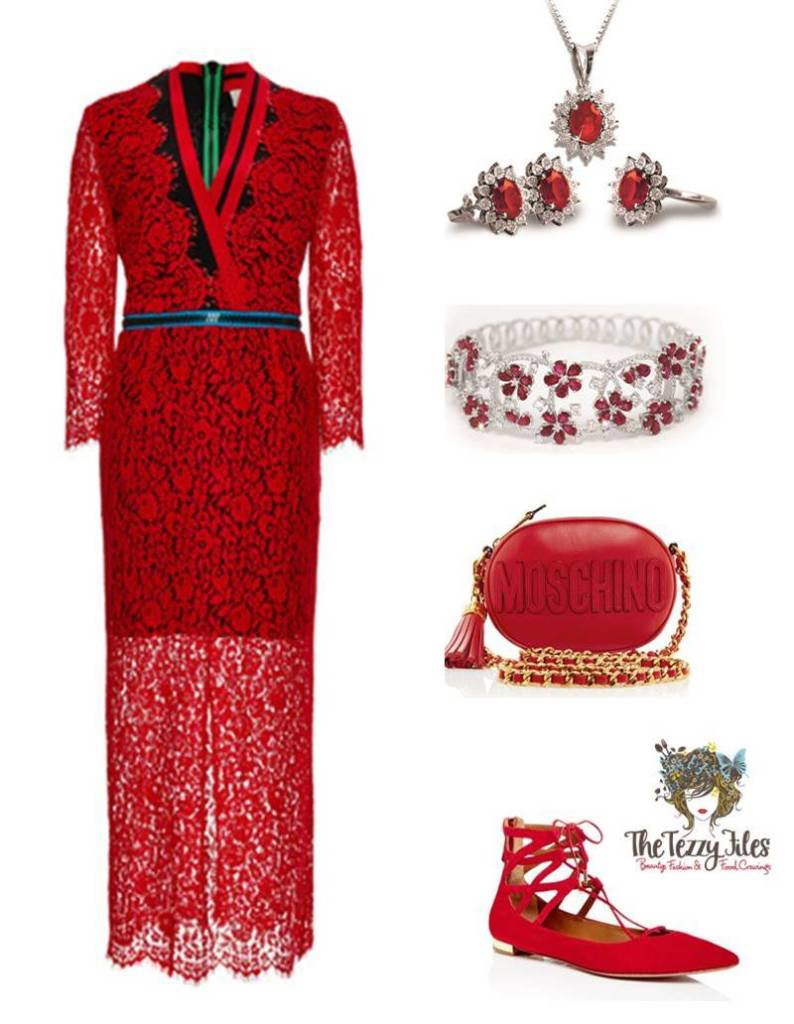Lady in Red (a touch of folklore)