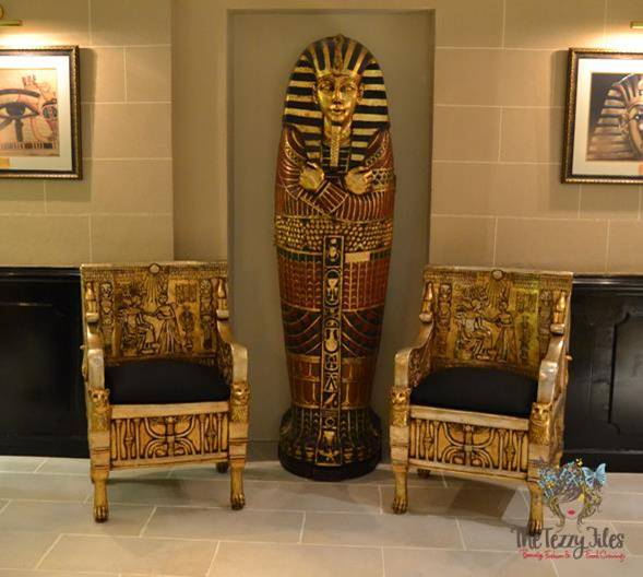 Pharaoh Cafe and restaurant launch arabian courtyard egyptian fine dining dubai review (7)