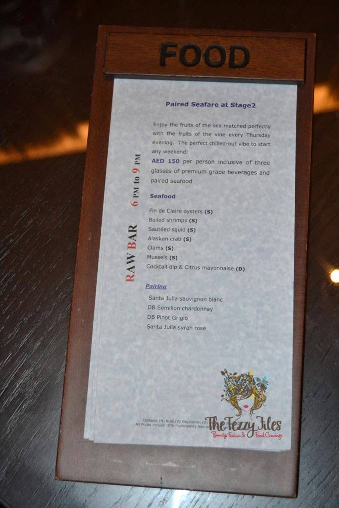Stage 2 Vida Downtown Dubai Thursday Seafare night seafood box wine AED 150 review (3)