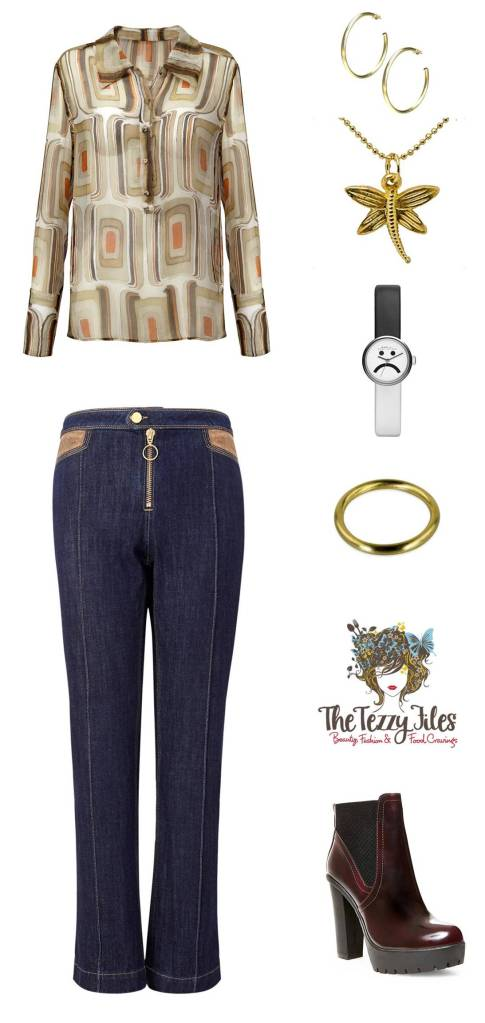 style file seventies style jeans hoops boots
