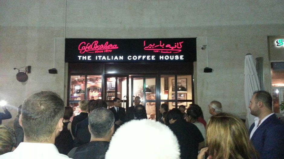 cafe barbera uptown mirdiff mall review opening italian coffee dubai cafe (4)
