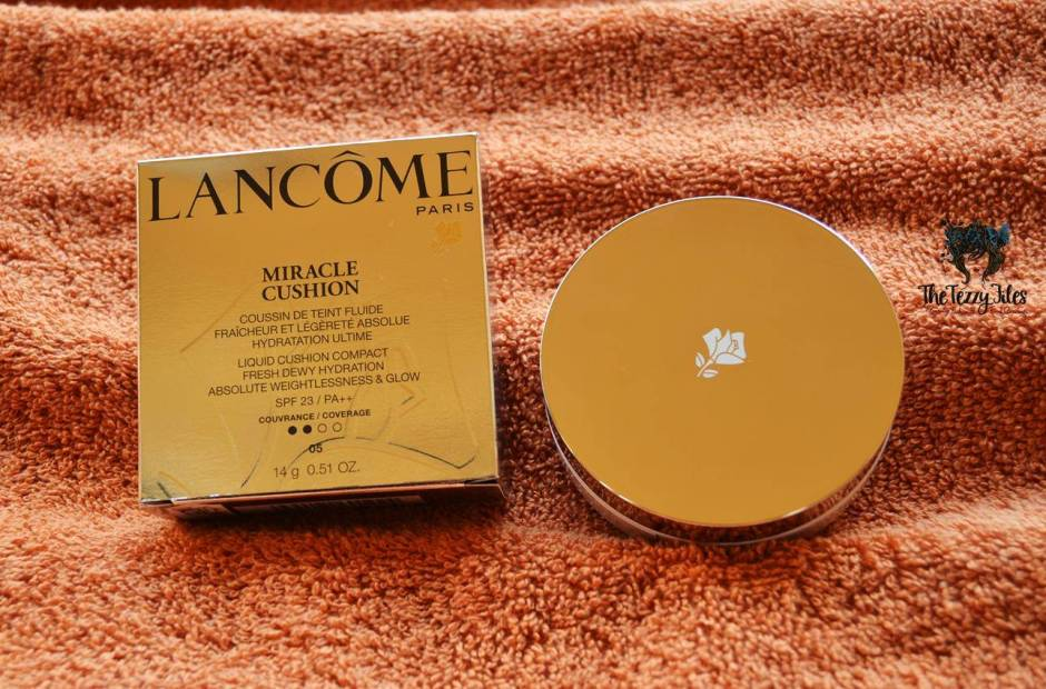 Lancôme Miracle Cushion Liquid Cushion Compact Foundation Review beauty blog uae dubai (1)