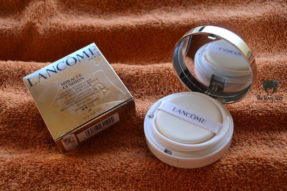 Lancôme Miracle Cushion Liquid Cushion Compact Foundation Review beauty blog uae dubai (2)