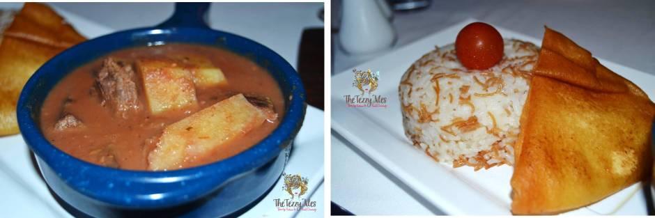 pharaoh's restaurant & cafe arabian courtyard dubai egyptian themed restaurant review dinner arabic food uae (2)