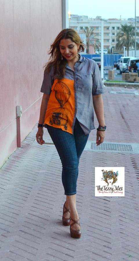 quirkbox auto rickshaw shirt in dubai uae dragon mall fashion blog nine west accessorize desigual (1)