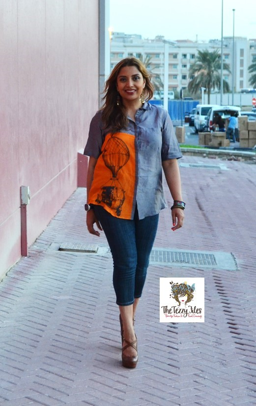 quirkbox auto rickshaw shirt in dubai uae dragon mall fashion blog nine west accessorize desigual (2)