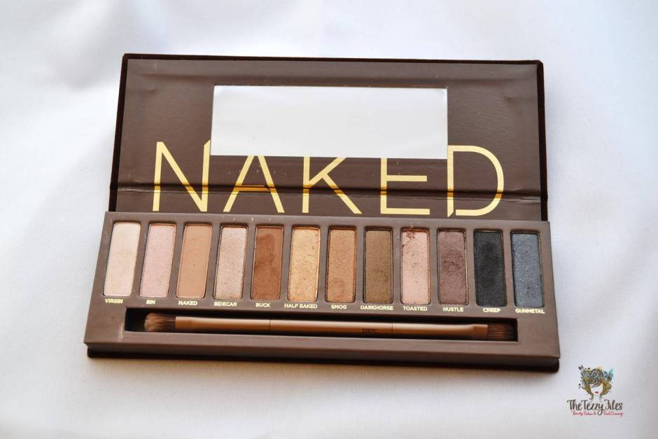 urban decay naked palette vs too faced chocolate palette eye shadow. which one is better 999