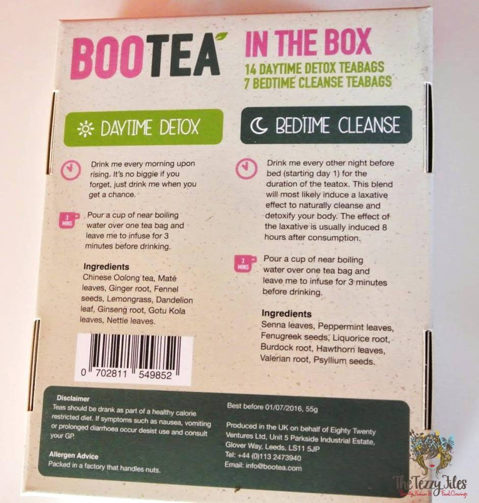bootea 14 day teatox review uae dubai blog
