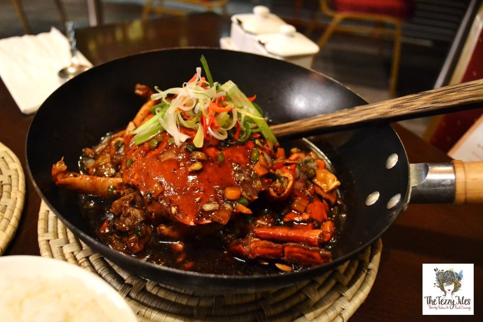 chimes crab fest barsha dubai restaurant review singaporean chili crab mud crab