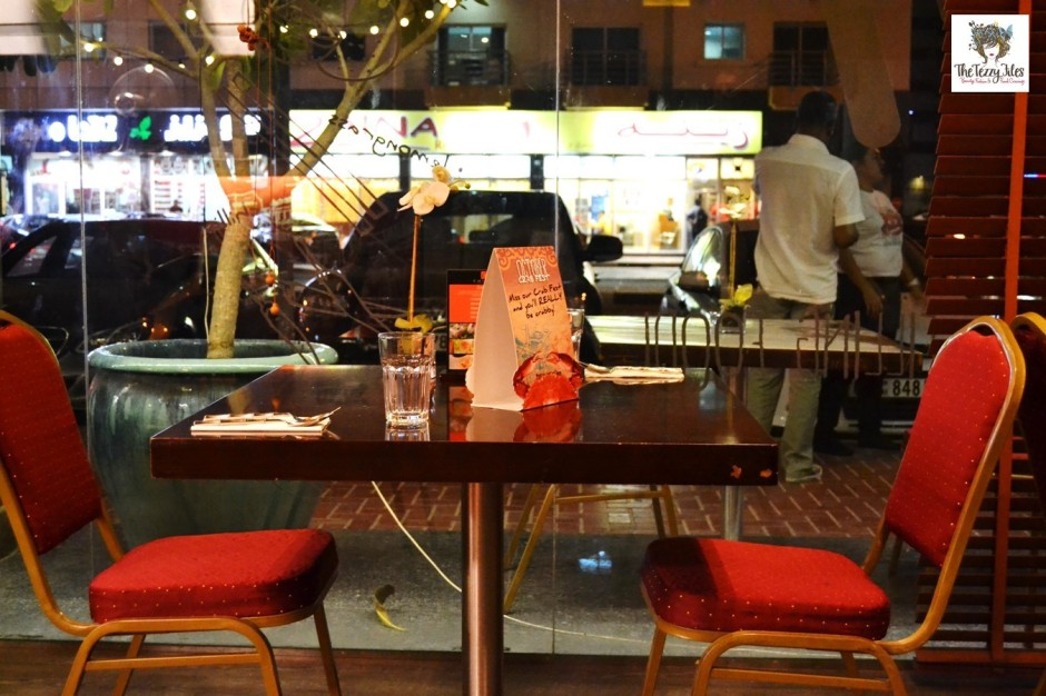 chimes dubai restaurant review ambience interiors barsha uae
