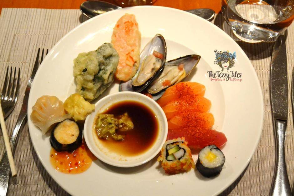 flavours on two asian twist night review AED 199 with alcohol unlimited buffet (2)
