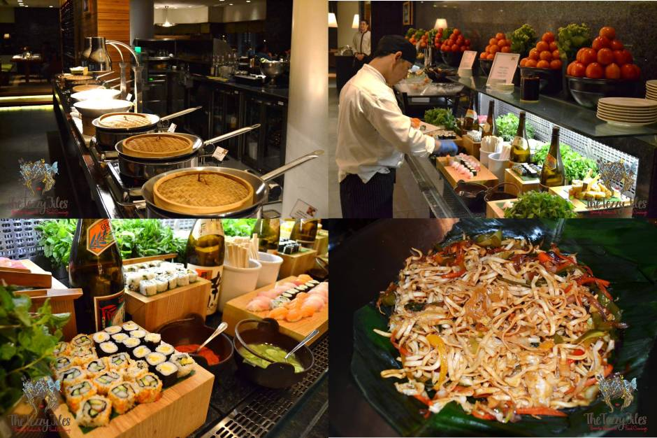 flavours on two asian twist night review AED 199 with alcohol unlimited buffet (5)