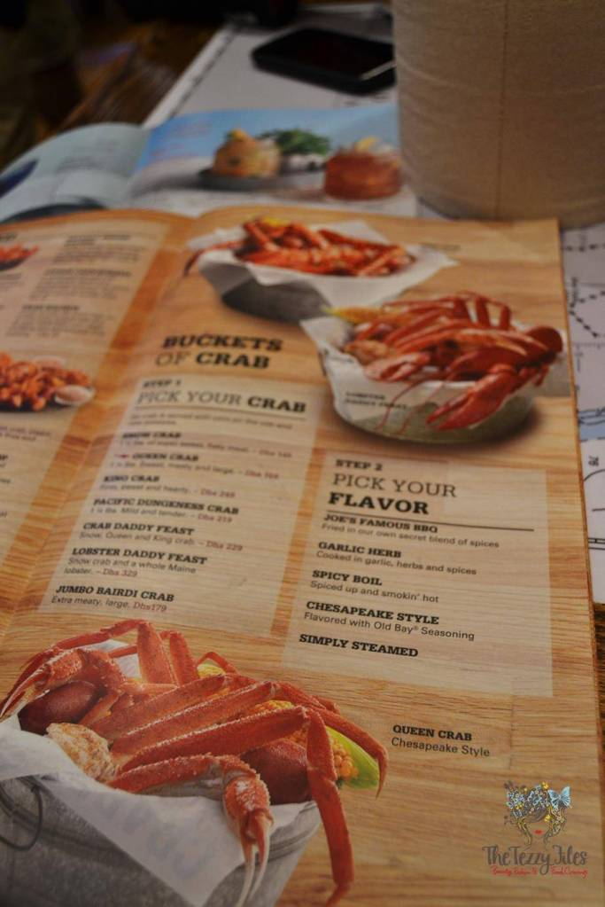 how to order and eat crab at joes crab shack dubai