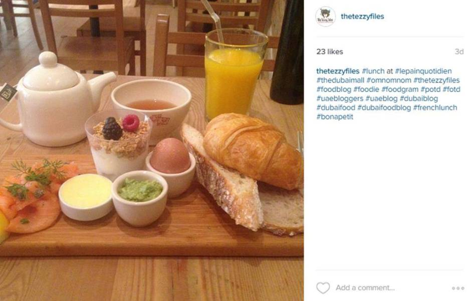 le pain quotidien dubai mall review