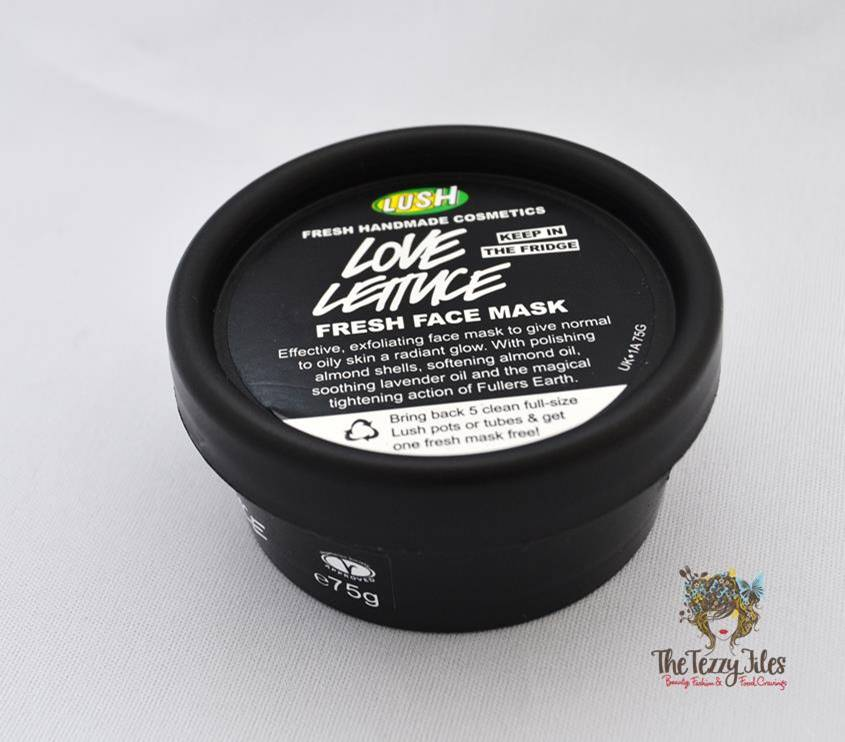 Lush Love Lettuce face mask review