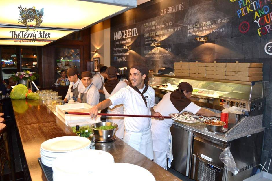 Margherita Pizzeria now open in dubai sheikh zayed road media review launch italian (3)
