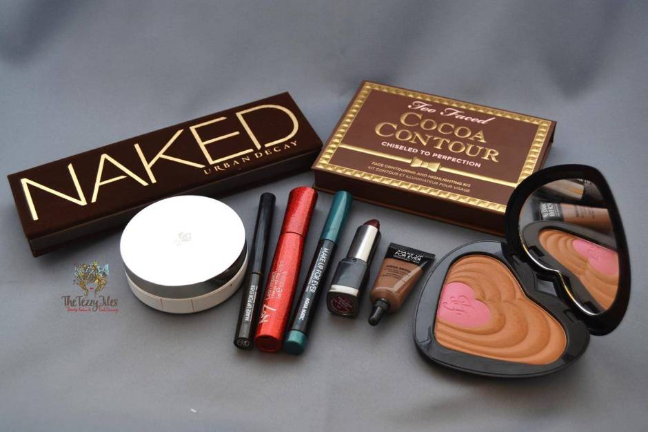 naked urban decay too faced cocoa contour makeup review motd look lancome miracle cushion makeupforever aqua matic