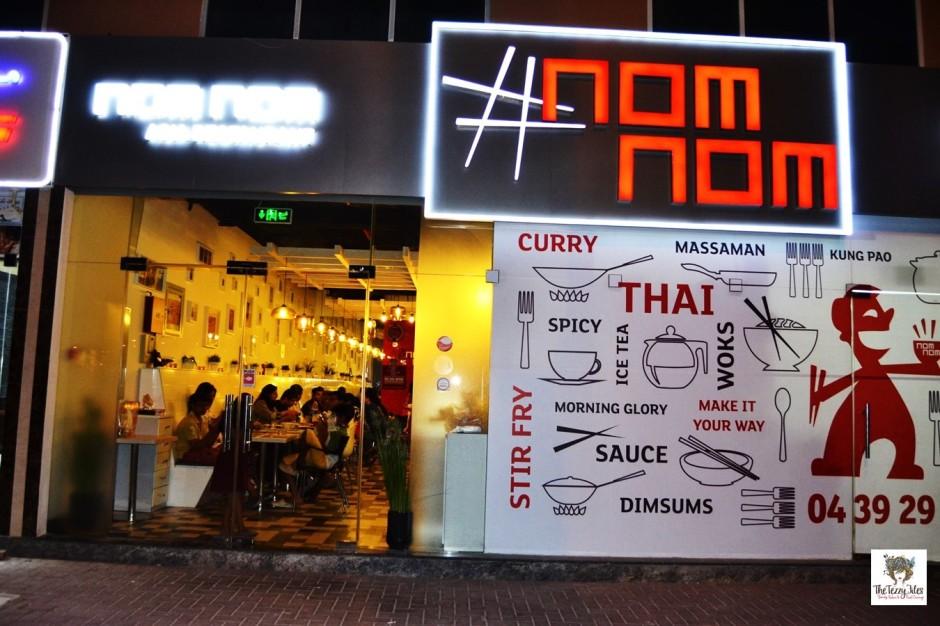 Nom Nom Asia Dubai review Al Barsha Indo Chinese Thai restaurant (2)