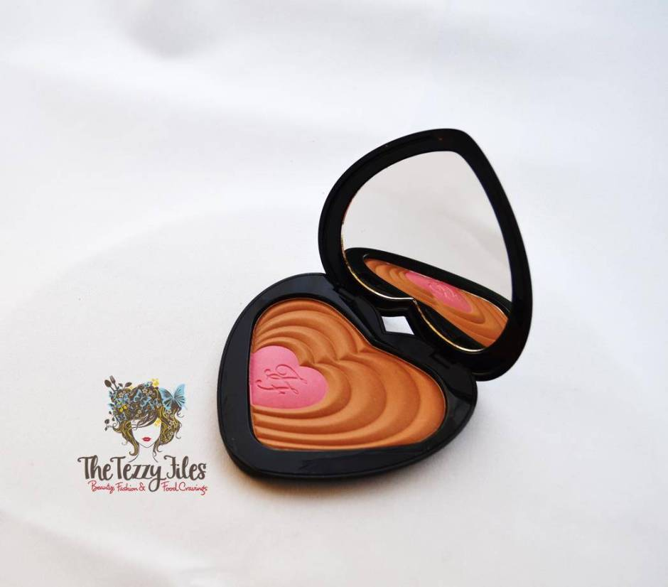 Too Faced Soul Mates Blushing Bronzer review ross and rachel (1)