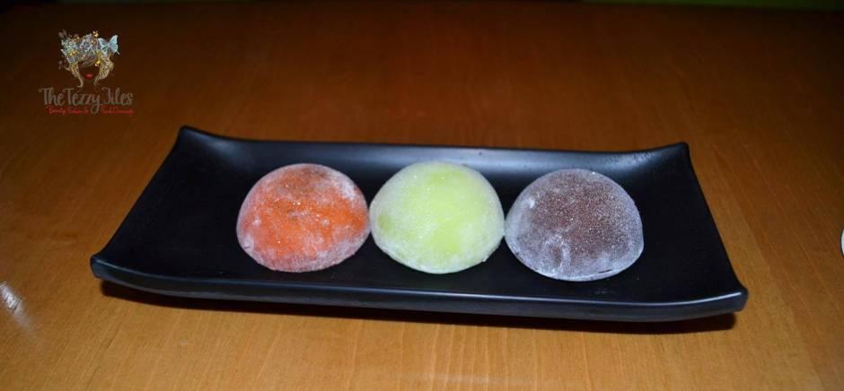 Chez Sushi review Dubai food blog mochi sushi wasabi chopstick training edamame tempura katsu curry (1)