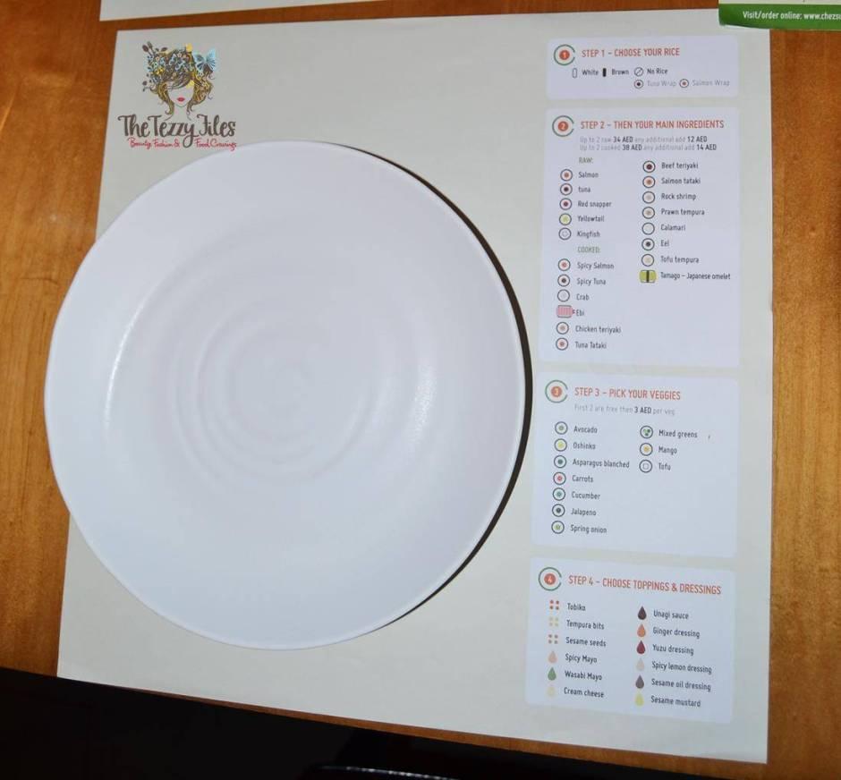 Chez Sushi review Dubai food blog mochi sushi wasabi chopstick training edamame tempura katsu curry (14)