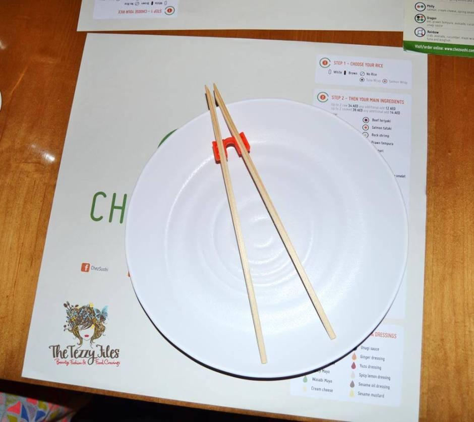 Chez Sushi review Dubai food blog mochi sushi wasabi chopstick training edamame tempura katsu curry (15)