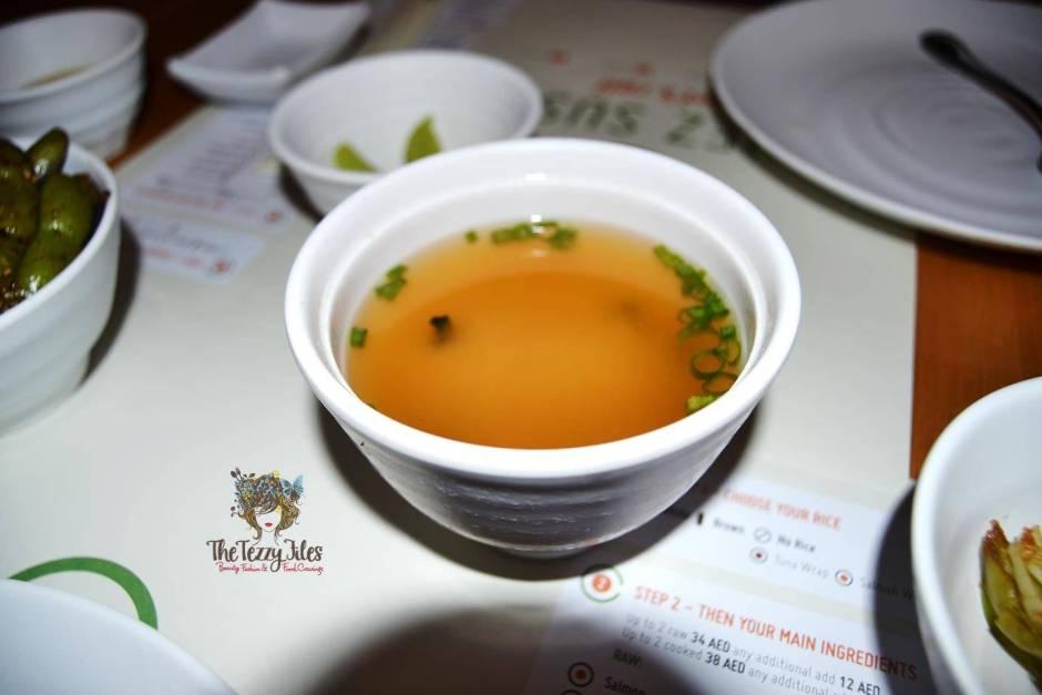 Chez Sushi review Dubai food blog mochi sushi wasabi chopstick training edamame tempura katsu curry (7)