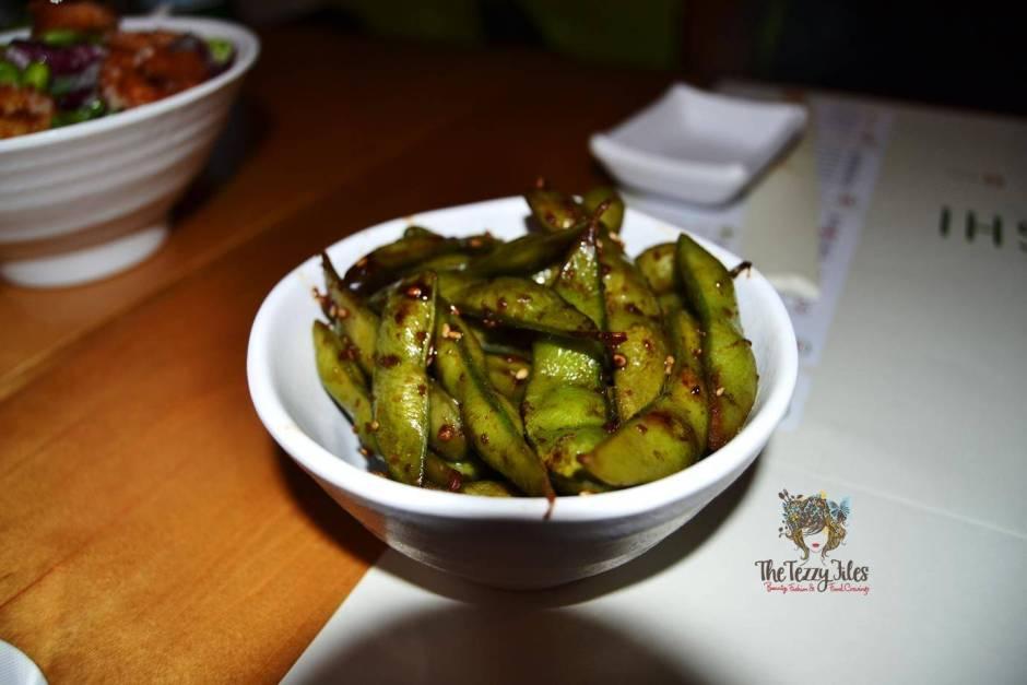 Chez Sushi review Dubai food blog mochi sushi wasabi chopstick training edamame tempura katsu curry (8)