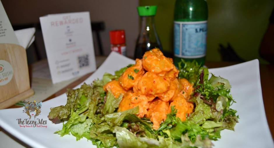 Chez Sushi review Dubai food blog mochi sushi wasabi chopstick training edamame tempura katsu curry (9)