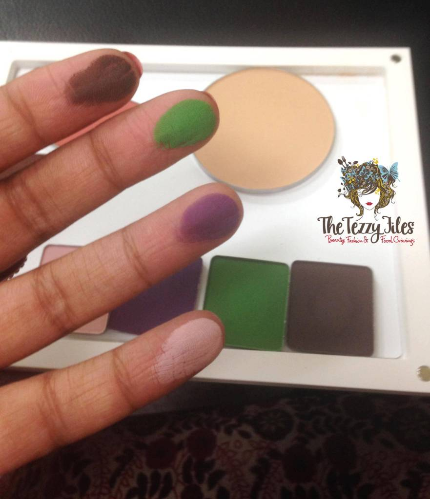 inglot eye shadow review swatches