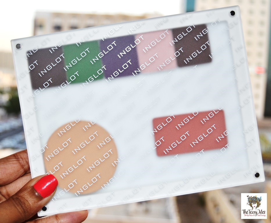 Inglot flexi palette review beauty blogger uae makeup tutorial festive