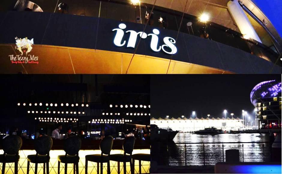 iris yas marina yas island abu dhabi review