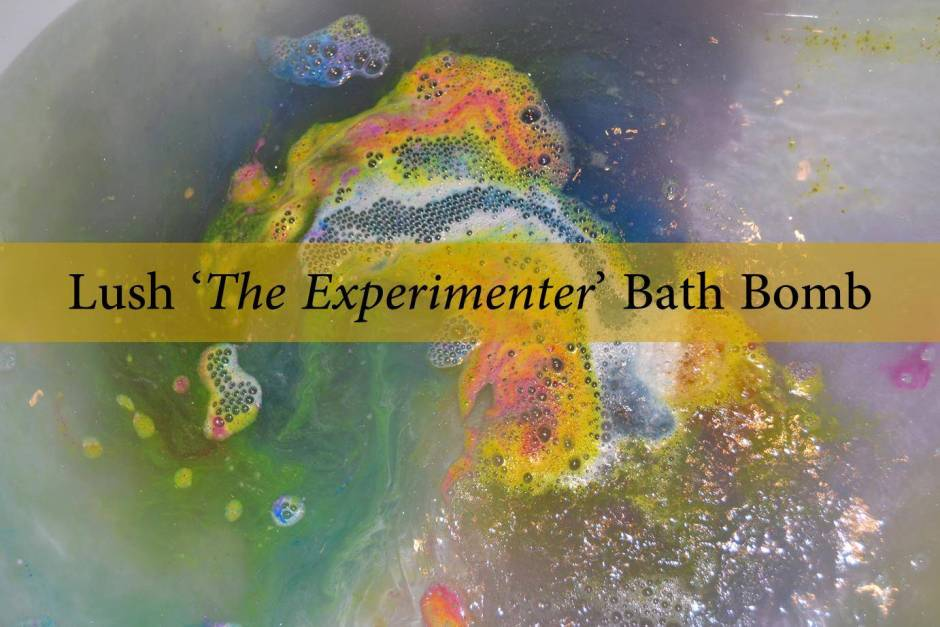 Lush The Experimenter Bath Bomb Review2