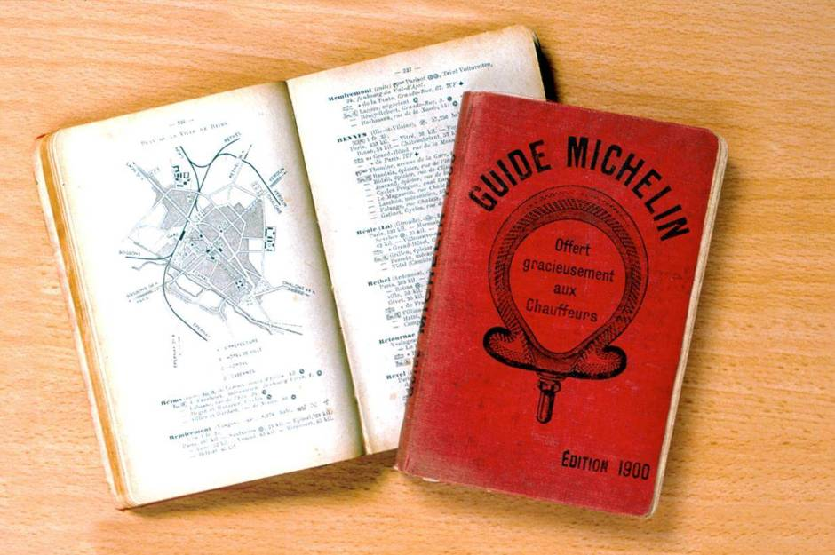 michelin star guide history background what is 1900