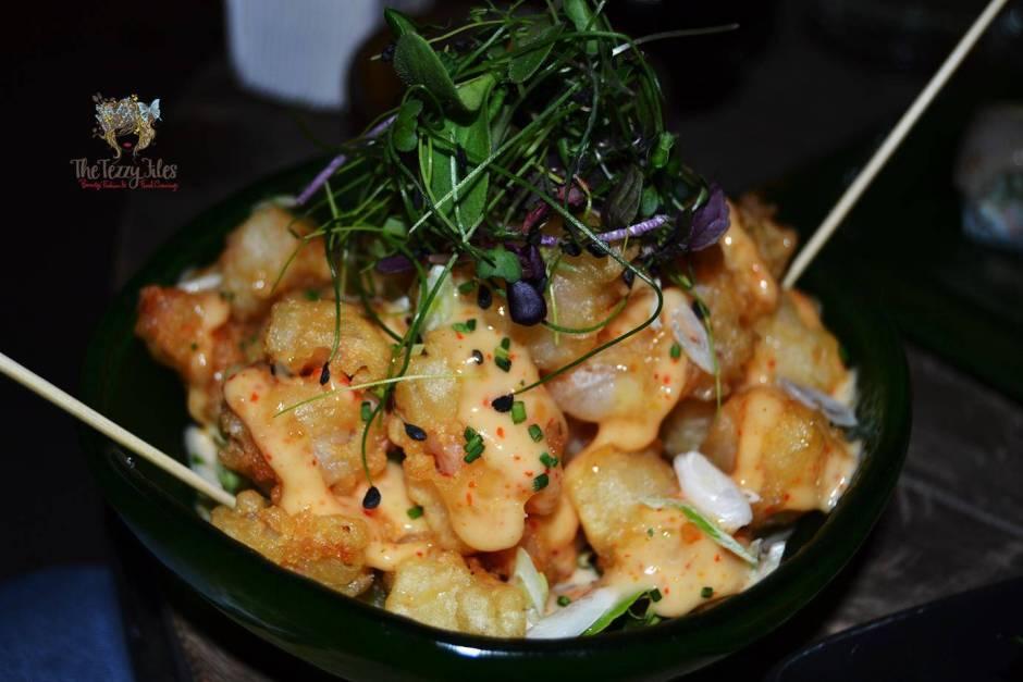 rock shrimp tempura iris yas marina yas island