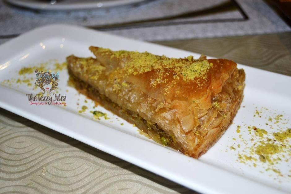 Saray Sultan Turkish Ottomon Cuisine Dubai Jumeirah Food Restaurant Review Blog (3)