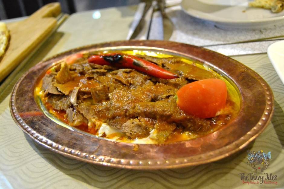 Saray Sultan Turkish Ottomon Cuisine Dubai Jumeirah Food Restaurant Review Blog (7)