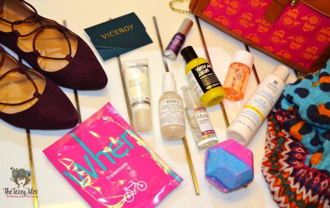 When Travelmate Mask Review beauty products to carry on a one night stay