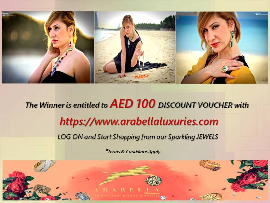 Arabella Luxuries Voucher win the tezzy files numaish