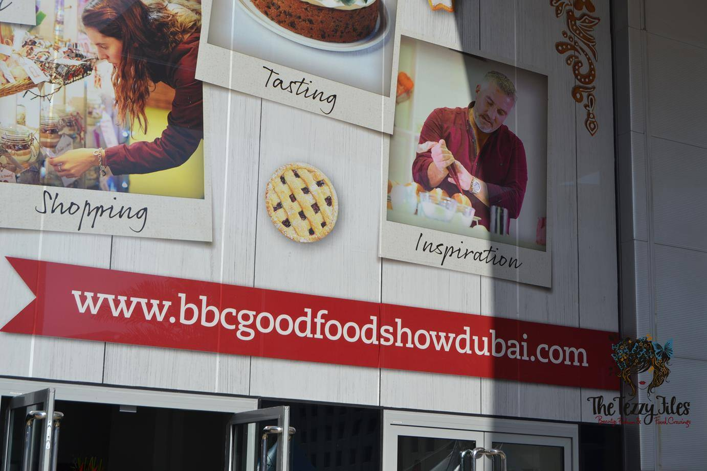 BBC Good Food Show Dubai World Trade Center 2015 Paul Hollywood Lurpak Cake Decoration Christmas (15)