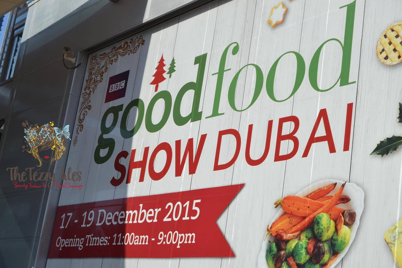 BBC Good Food Show Dubai World Trade Center 2015 Paul Hollywood Lurpak Cake Decoration Christmas (16)