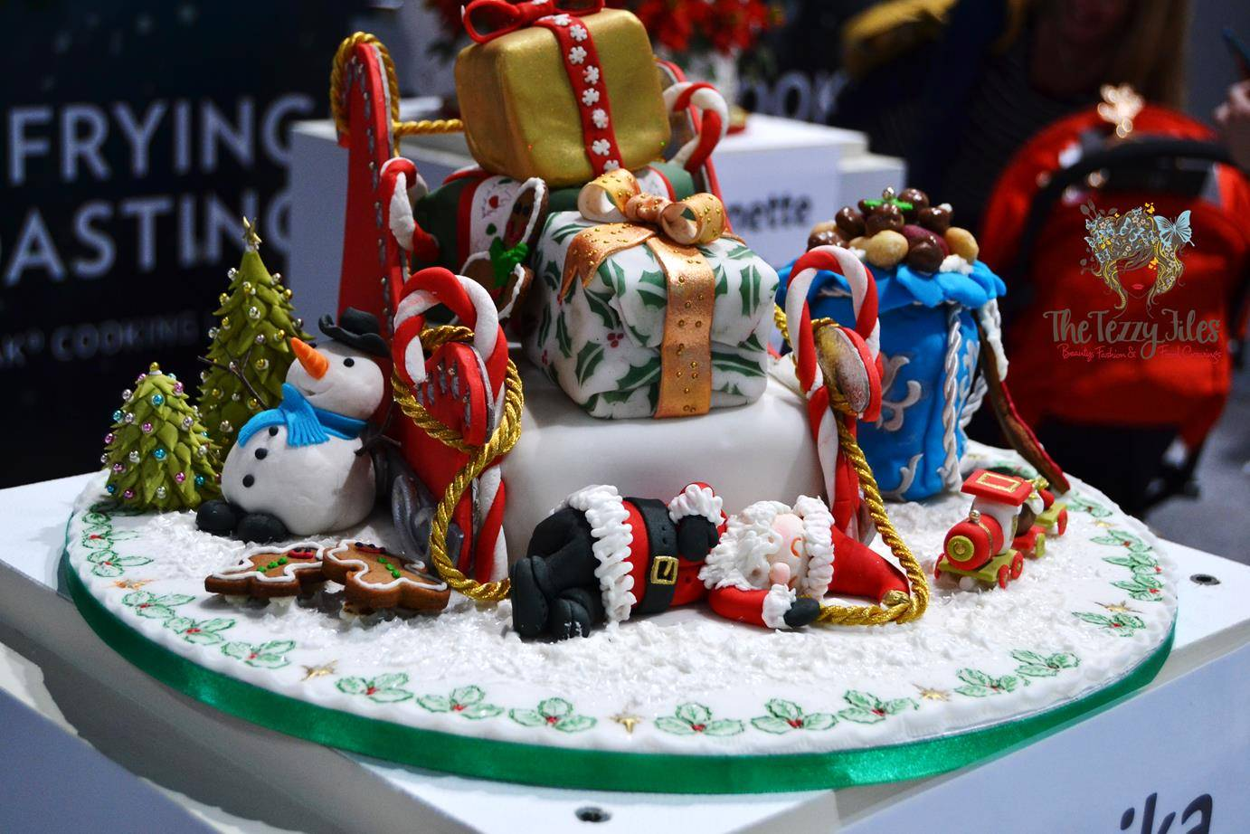 Christmas Cake Decoration Ideas Bbc Good Food Part - 21: The Tezzy Files