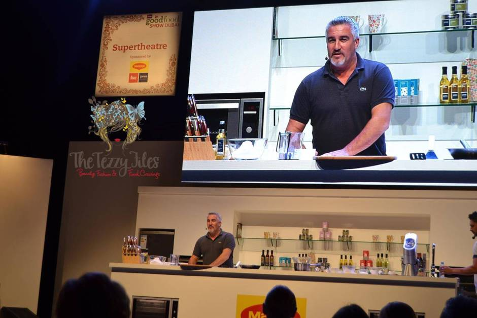 BBC Good Food Show Dubai World Trade Center 2015 Paul Hollywood Lurpak Cake Decoration Christmas (8)
